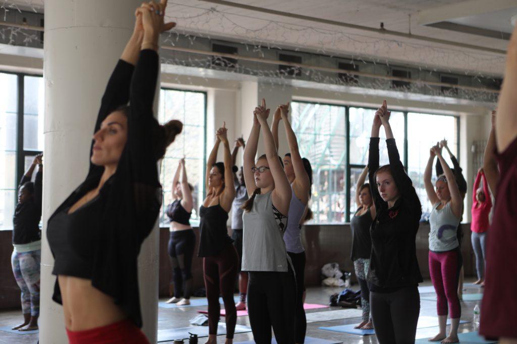vinyasa yoga with Debby each Friday at Yoga Six St. Louis
