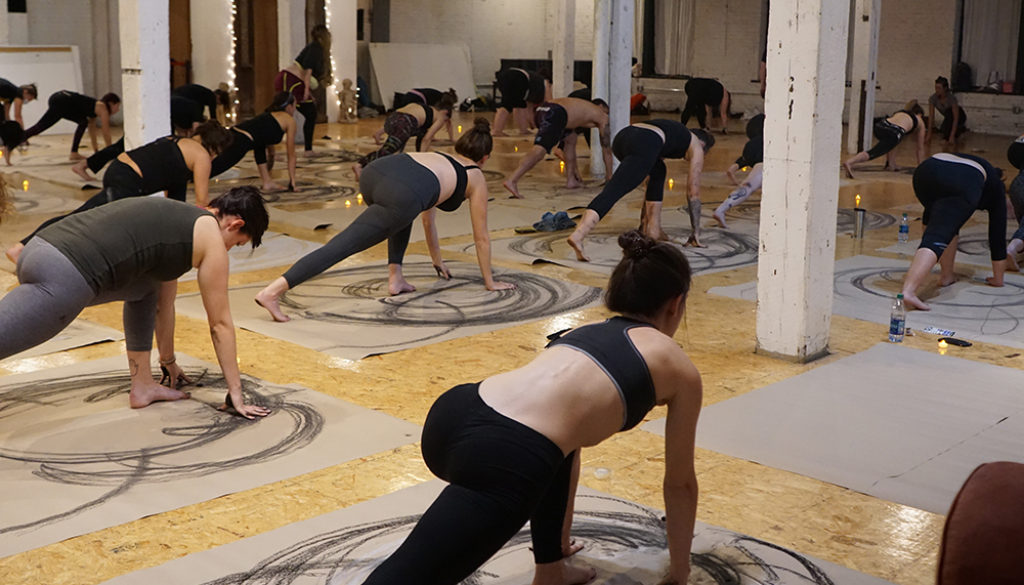 Yoga Outside the Lines with Debby Siegel at Utopia Studios