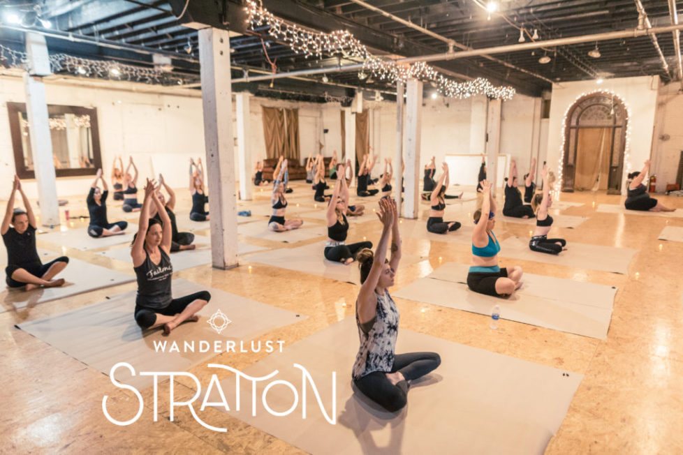 Yoga Outside the Lines at Wanderlust Stratton with Debby Siegel, RYT.