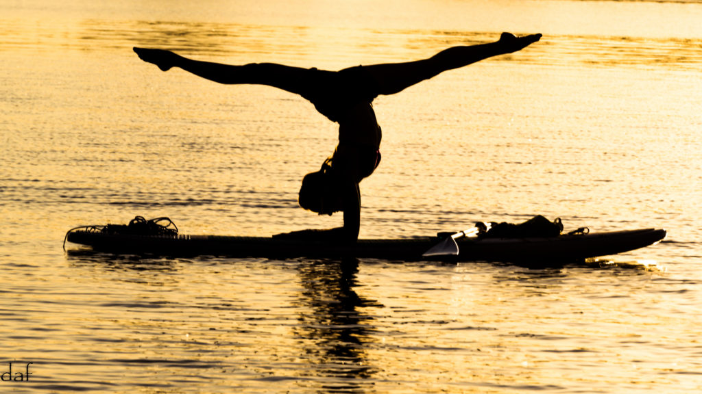 Try something new. Be a neophiliac yogi. SUP Yoga with Debby Siegel is one way.