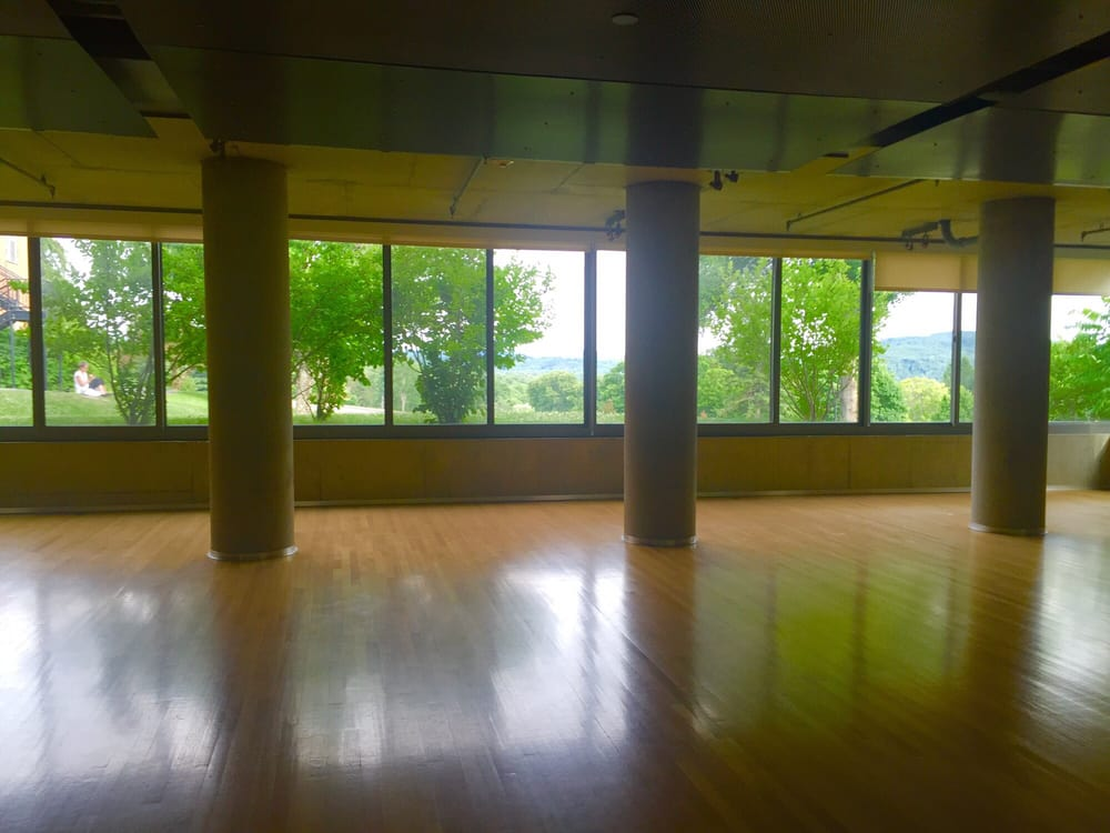 This is an example of a classroom space at Kripalu.