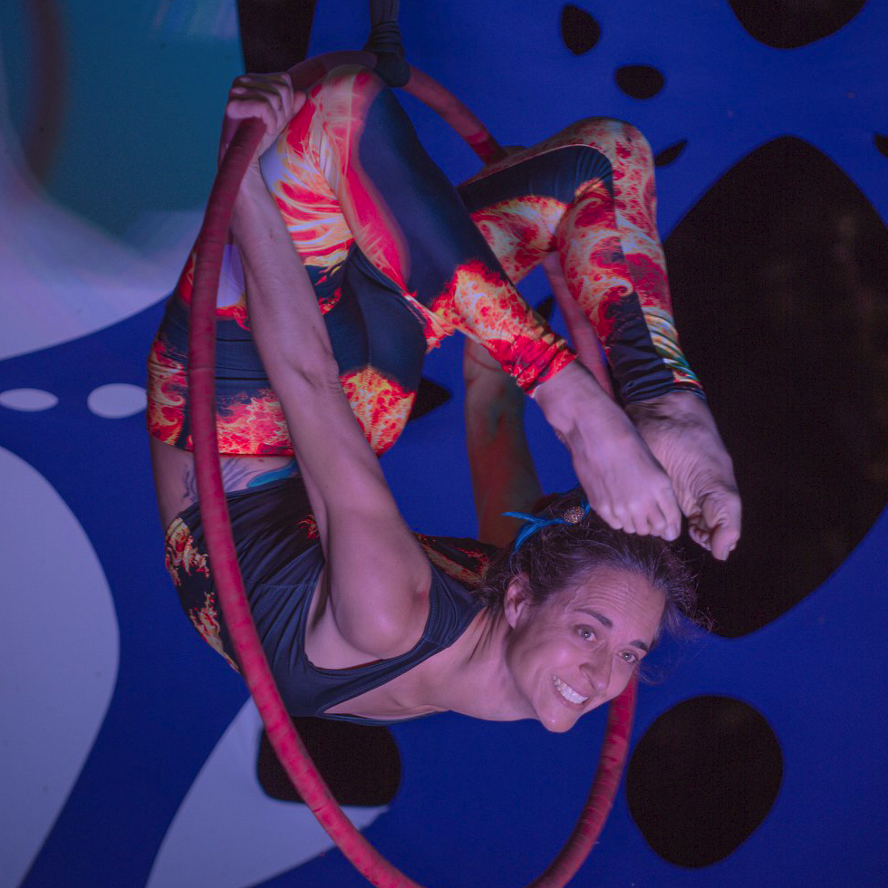 Co-Founder  Aerial Skills, Aerial Yoga, ReKinection Performer