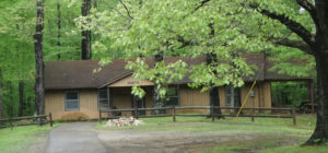 Bruce Lodge - coed bunkstyle housing at Manifest Station Music & Yoga Festival May 3-5 near St. Louis.