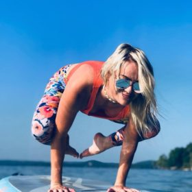 sup yoga at manifest station music and yoga festival in the midwest May 3-5