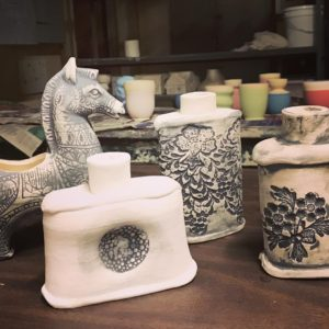 Jennifer Dormuth pottery at Cherokee Rec Center. Totally free class