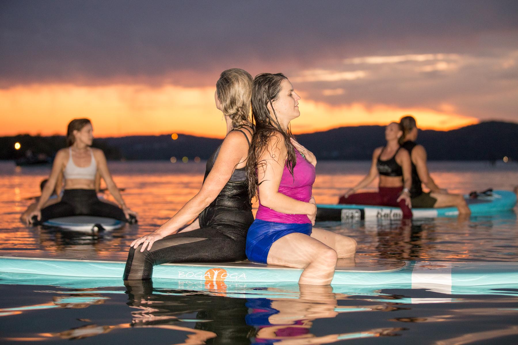 Partner SUP Yoga