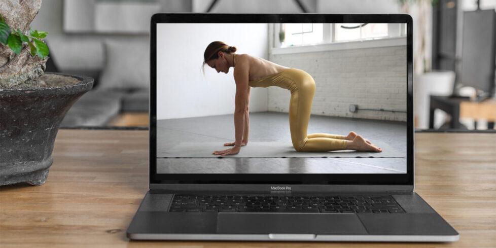 coronavirus online yoga class with Debby Siegel
