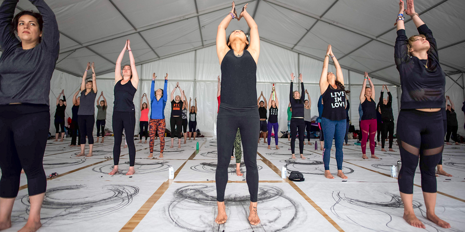 Yoga Outside the Lines at Wanderlust