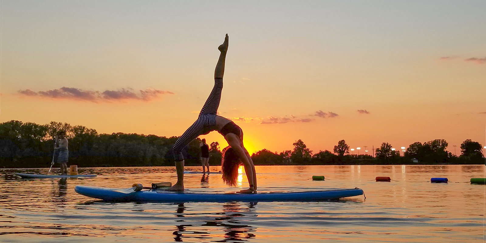 Sunset SUP Yoga begins April 21!