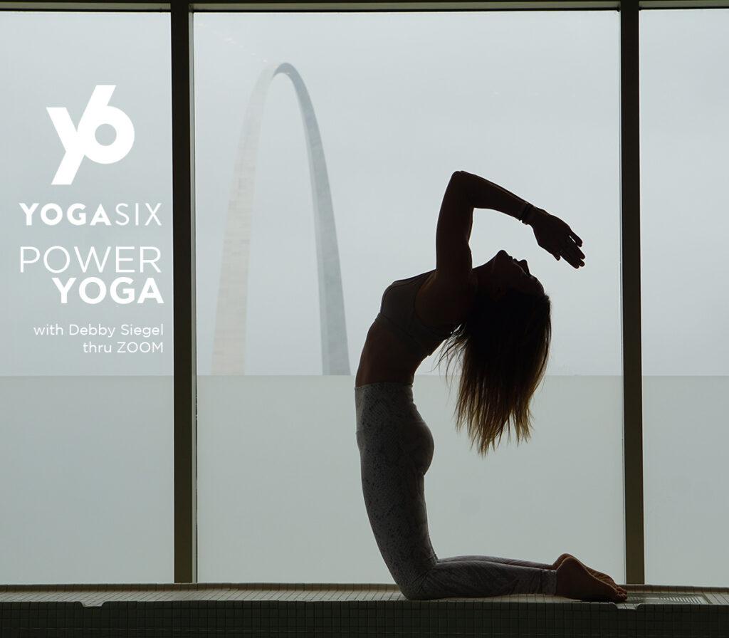 Power Yoga online with Debby Siegel MSA, ERYT (500 RYT 2020)