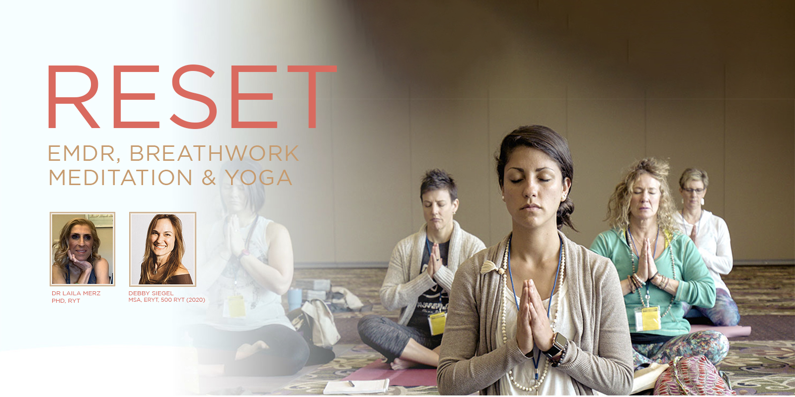 RESET with EMDR & Yoga