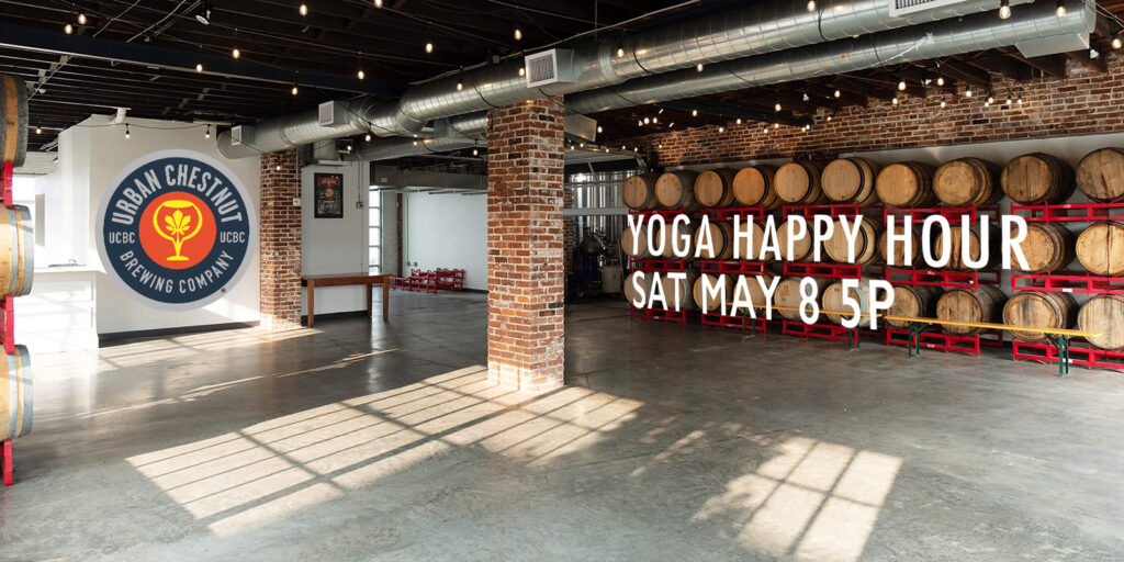 Urban Chestnut Happy Hour Yoga