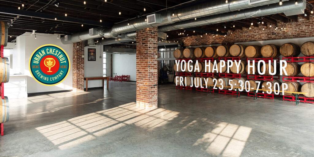 Yoga Happy Hour Urban Chestnut Brewery
