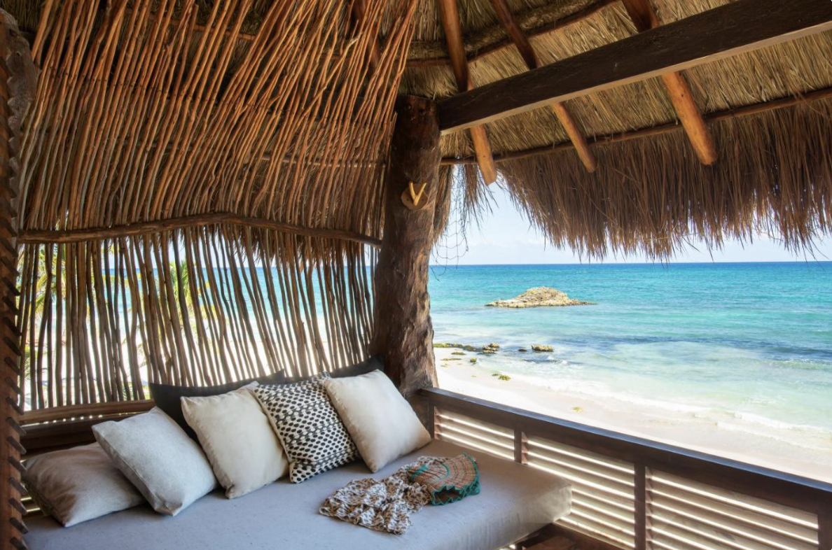 Beachfront Eco Chic Resort