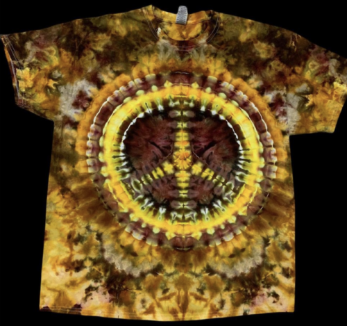 Handmade tie dye clothing and tapestries. Made in StL.