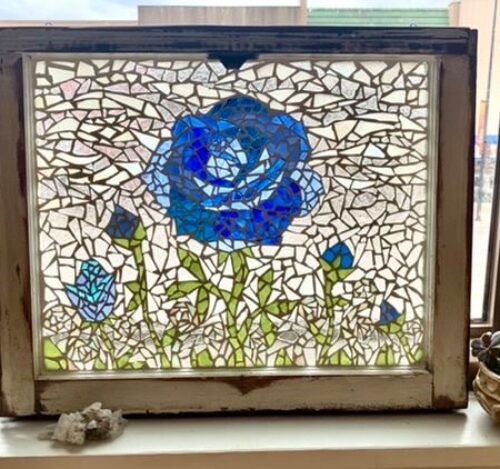 Hand-Made, Mosaic Stained Glass Windows