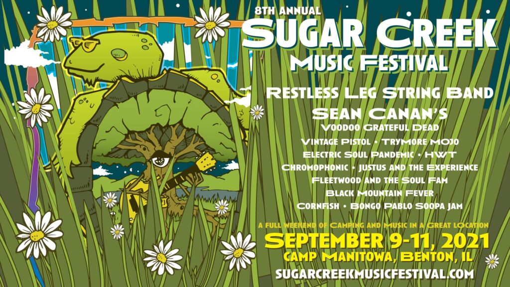 All access yoga at Sugar Creek Music Festival